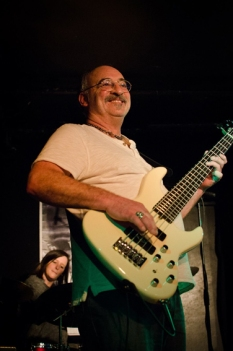 """Clive """"Harley"""" Butler: bass"""